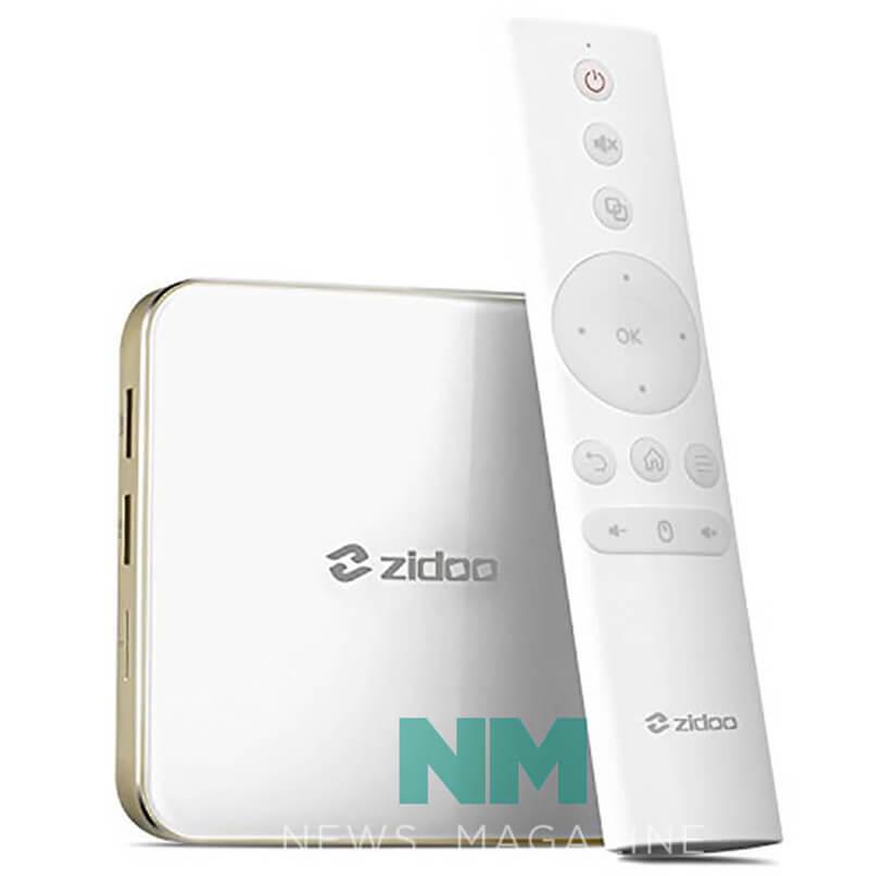 TV Android của Zidoo Android 7.0 băng tần kép, máy phát đa phương tiện WIFI H6 Pro Quad-Core 4K