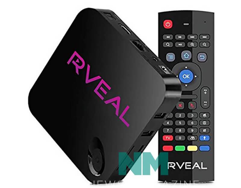 Bộ điều khiển TV đa phương tiện Rveal & Remote Mouse Air [Android, 4K, Quad-Core]