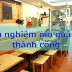 Kinh nghiệm mở và kinh doanh quán ăn nhỏ - nhà hàng