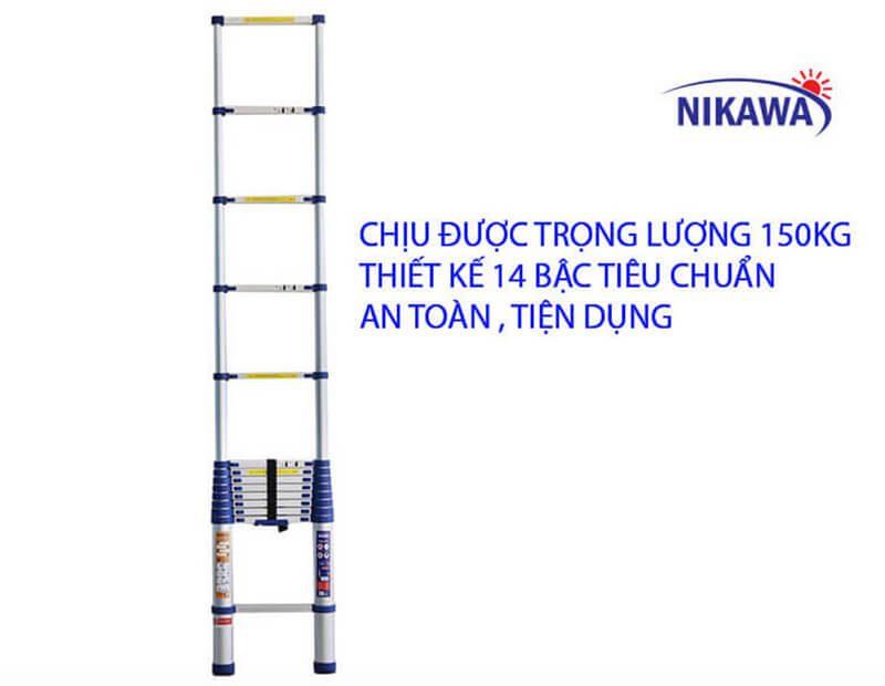 Sự ưu việt của thang nhôm rút gọn NIKAWA NK – 48
