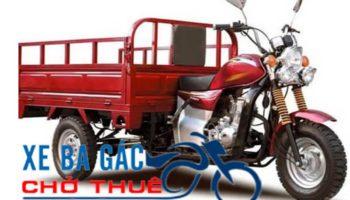 Dịch vụ xe ba gác chở thuê uy tín ở Tp.HCM