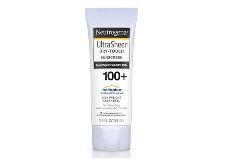 Neutrogena UltraSheer Dry-Touch Sunscreen Broad Spectrum SPF 100+