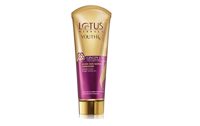 Lotus Herbals Youth Rx Active Anti-Aging Exfoliator