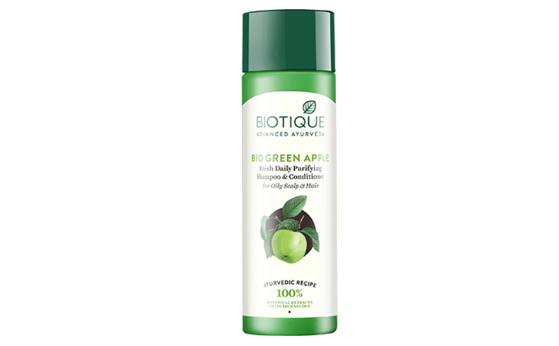 Bio Green Apple Fresh Daily Purifying Shampoo And Conditioner For Oily Scalp And Hair