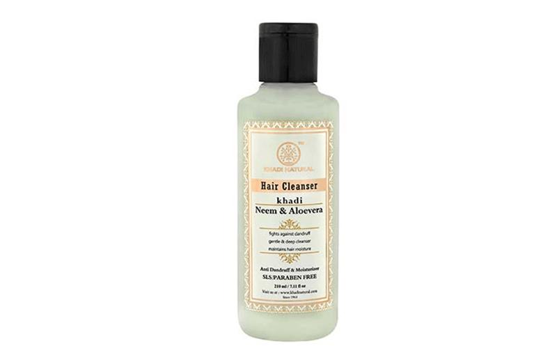 Khadi Neem And Aloevera Shampoo For Dandruff