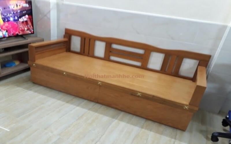 Bạn có thể sử dụng làm thành ghế sofa để tiếp khách vào ban ngày và kéo ra làm giường ngủ vào buổi tối.