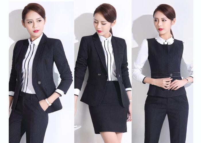 Top 3 mẫu đồng phục công sở nữ phổ biến và được ưa chuộng hiện nay