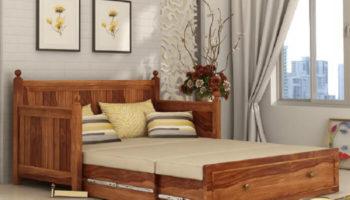 Top 5 mẫu ghế sofa kết hợp giường ngủ dành cho nhà nhỏ hiện đại